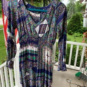 Anthropologie Super Colorful Dress